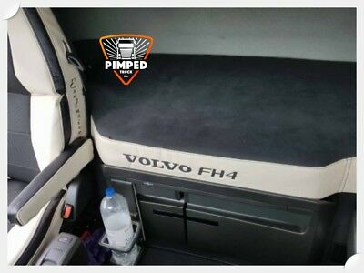 Bed Cover Volvo FH 4 ECO LEATHER Beige mattress cover + embroidery