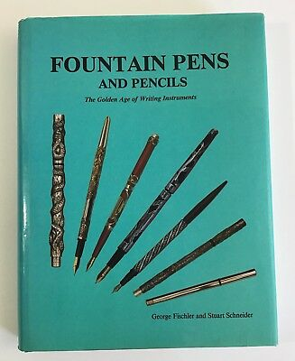Fountain Pens And Pencils-Fischler & Schneider 1990 With Dust Jacket