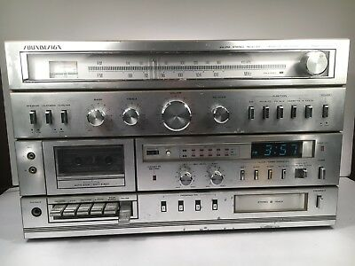 SOUNDESIGN 5959 Vintage DC 8 Track Player Cassette Receiver Tapes Radio As Is