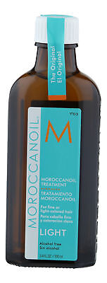 Moroccanoil Treatment Light 3.4 oz 100 ml. Sealed Fresh