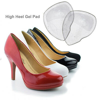 Women High Heel Silicone Gel Cushion Insoles Front Pad CARE Feet Shoe Foot