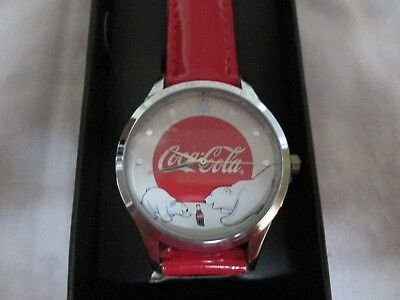 Coca-Cola Polar Bear Watch New In Box