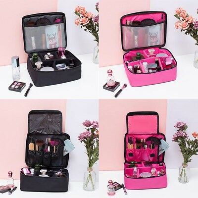 Professional Make-Up Bags Case Vanity Box Cosmetic Nail Tech Storage Beauty Bag