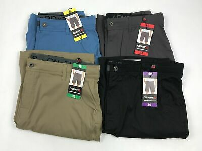 New Gerry Mens Venture Flat Front Stretch Cargo Shorts Variety FREE SHIP
