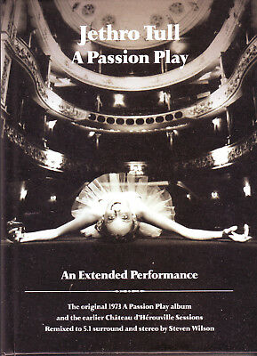 JETHRO TULL - A Passion Play - An Extended Performance - Box Set 2 CDs + 2 DVDs