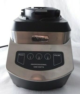 Ninja NJ600 900 Watt 3 Speed Blender Base Only