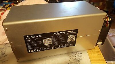 Avalon6 Miners W/ Psu!  Excellent Condition!!