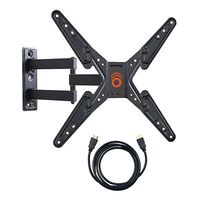 "ECHOGEAR Full Motion Articulating TV Wall Mount - 26-55"" LED, LCD and Plasma TVs"