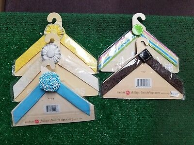 LOT OF 5 Different Lindsay Phillips Switchflops Straps SIZE LARGE 9-10-11 NIP