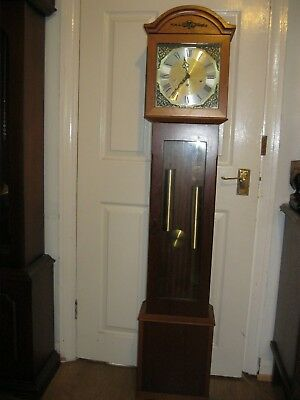 Vintage Westminster Chime Grandmother Clock DENCLOCK with Franz Hermle Movement