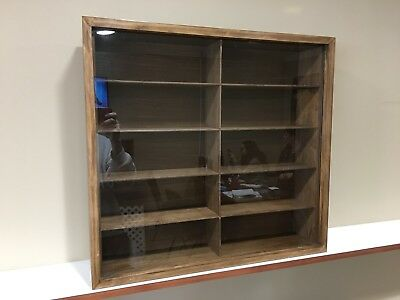 Display case cabinet for 1/18 diecast scale cars - 10NWW-2