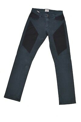 9.2 by CARLO CHIONNA Blue JEANS STRAIGHT STRETCH FIT Made in ITaly 16 Yrs GOOD