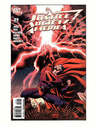 Justice Society of America #21 (2008, DC) NM+ Dale Eaglesham Variant Geoff Johns