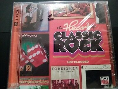 The Heart of Classic Rock - Hot Blooded (Time Life) 2 Disc Set