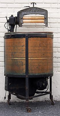 Antique Copper Syracuse Washing Machine Co Model M Easy Wash Steampunk Decor