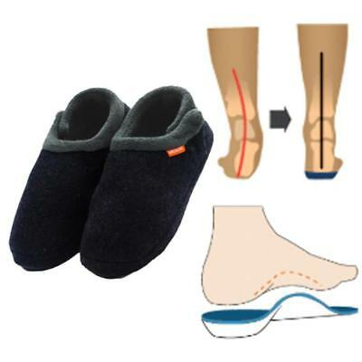 Archline Slippers - Closed (Orthotic Slippers) Charcoal