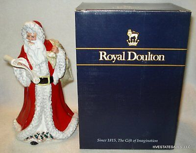 Royal Doulton Figurine Father Christmas Santa Claus HN3399 with original box