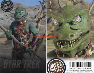 Dave and Busters Star Trek Villains Series Card (Singles - GORN Etc)