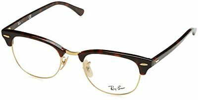 Ray-Ban 5154, Montature Unisex Adulto, Marrone (Gold Tortoise), 51 (L7r)