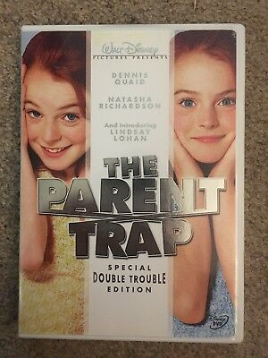 The Parent Trap  (DVD Special Double Trouble Edition) Lindsay Lohan Disney Movie