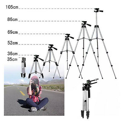 Portable Professional Adjustable Tripod Stand Mount Holder Camera Cell Phone