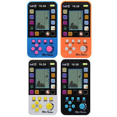 Portable Childhood Tetris Handheld Game Players Mini Game Console 23 Games GY