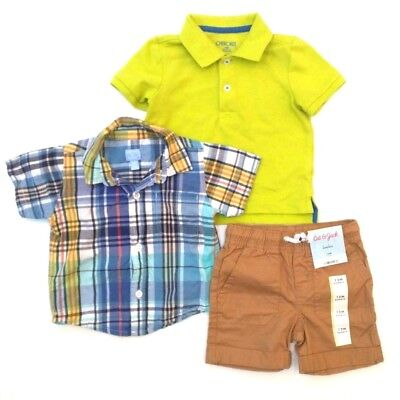 NEW + EUC - CAT & JACK and more Baby Boys 9-12 months clothing LOT