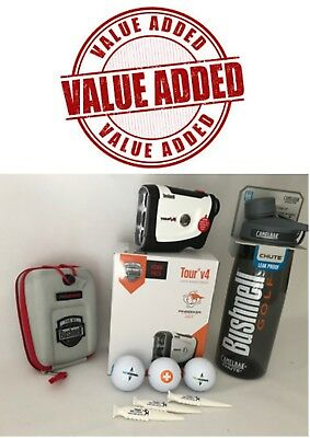 Bushnell Tour V4 New Jolt Technology Laser Value Added  Pack