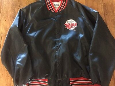 Vintage Chalkline MLB Minnesota Twins baseball satin jacket