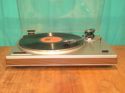Sanyo TP-1005, 33/45 rpm, semi-auto, belt drive turntable