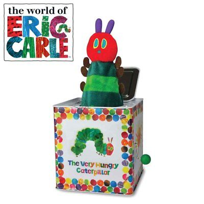 NEW The Very Hungry Caterpillar - Jack in the Box Wind-up Toy Kids