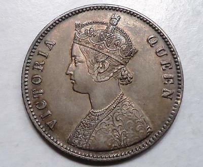 1862 India One Rupee, Half Dollar Size, *collector's Coin*
