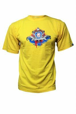 Action Paintball Games - Tshirt - Crown - Yellow - XL.