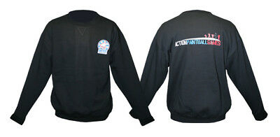 Action Paintball Games Jumper - Blk - 2x.