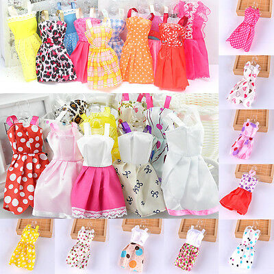 60Pcs For Barbie Doll Dresses, Shoes,jewellery Clothes Set Accessories Uk