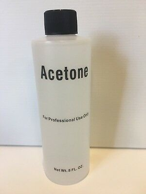 PURE ACETONE 100% - 200ml SOAK OFF REMOVER for SNS, gels, acrylics AUS SELLER