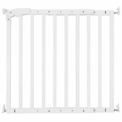 CHILDWOOD Safety Gate Maestro Wood White Baby Pet Barrier Divider Door VHMAEW