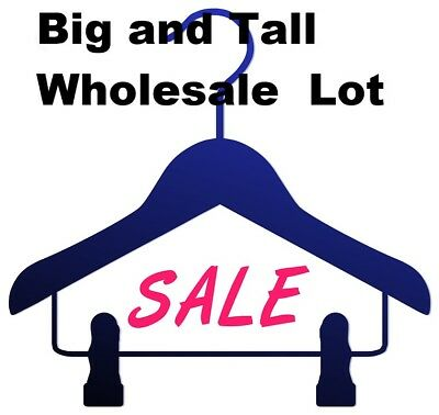 Wholesale Big and Tall Bulk Clothing Lot $500+ MSRP