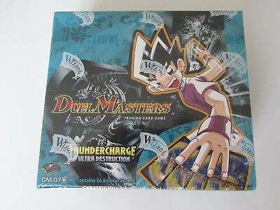 Duel Masters TCG - Thundercharge of Ultra Destruction Booster Box DM-07 Sealed