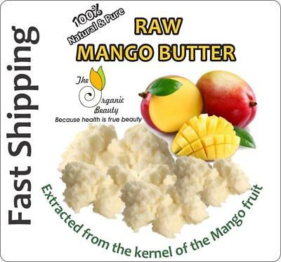 Organic Raw Mango Butter Soap 100g Pure 100% Natural Unrefined Moisturiser Skin