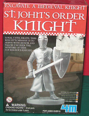 Excavate A Medieval Knight..st.john's Order Knight..4M..brand New And Sealed