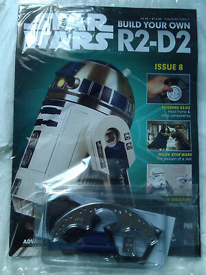 DEAGOSTINI STAR WARS - Build Your Own R2-D2 Issue 8 Sealed With Parts