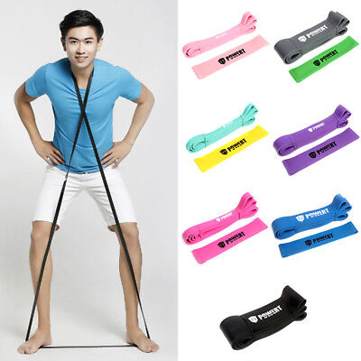Exercise Latex Resistance Bands Fitness Stretch Training Yoga Tube Home Workout