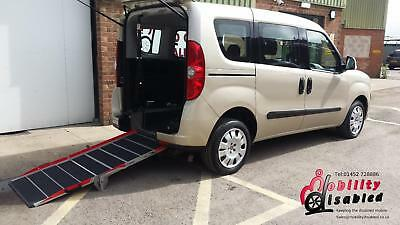 2013 Fiat Doblo Petrol Car Wheelchair Disabled Accessible Vehicle