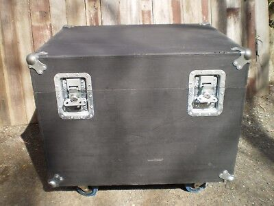 Cable Packer Road/Utility Case on Swivel Casters