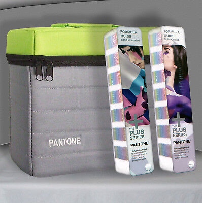 Pantone GP1601N Plus Series Formula Guide Solid Coated & Uncoated books as shown