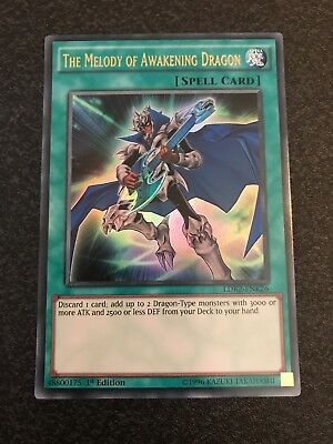 Yu-Gi-Oh Ultra Rare The Melody Of Awakening Dragon 1st Edition LDK2-ENK26
