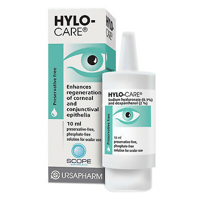 Hylo Care Preservative Free Eye Drops 10ml