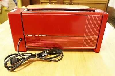 1950s TEFAL VINTAGE THICK N THIN Toaster! EXCELLENT WORKING CONDITION!