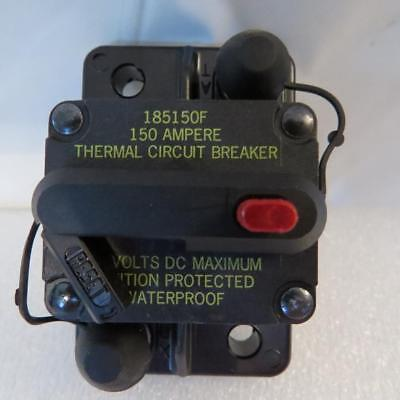 Blue Sea Systems 7104 High Amp Circuit Breaker 150 Amp DC Panel Mount Marine